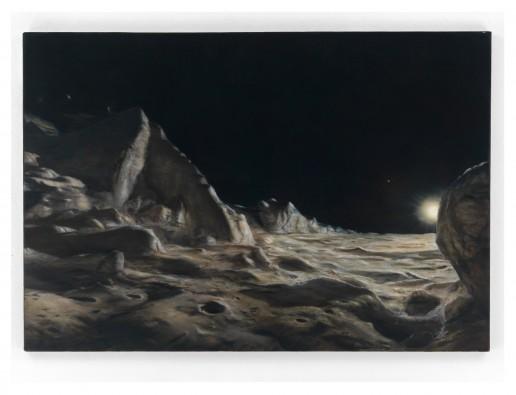 Caloris Planitia auf Merkur - Artist Bjoern Dressler