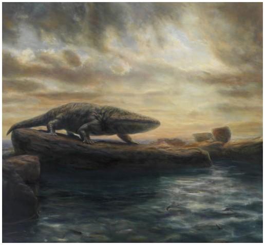 Mastodonsaurus - Artist Bjoern Dressler